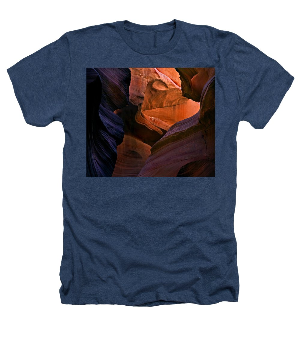 Sandstone Heathers T-Shirt featuring the photograph Desert Bridge by Mike Dawson