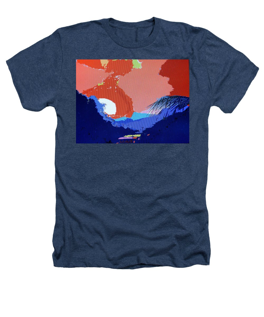 Digital Art Heathers T-Shirt featuring the photograph Dominican Sunset by Ian MacDonald