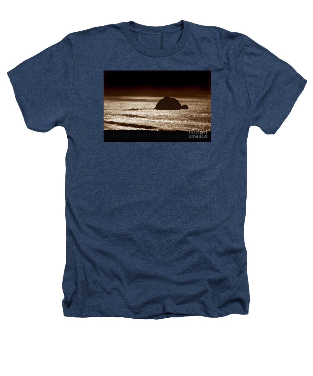 Big Sur Heathers T-Shirt featuring the photograph Drama On Big Sur by Michael Ziegler