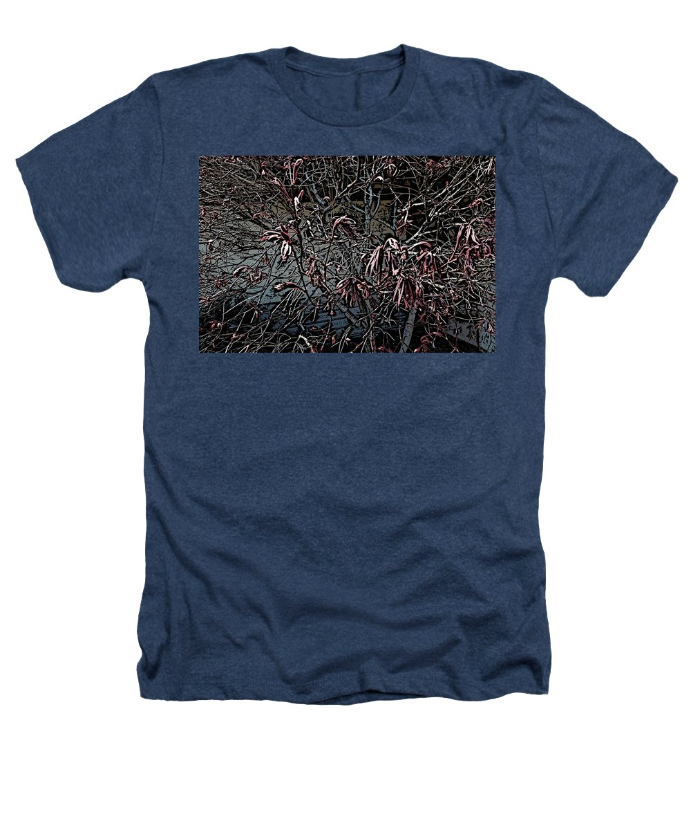 Digital Photography Heathers T-Shirt featuring the digital art Early Spring Abstract by David Lane