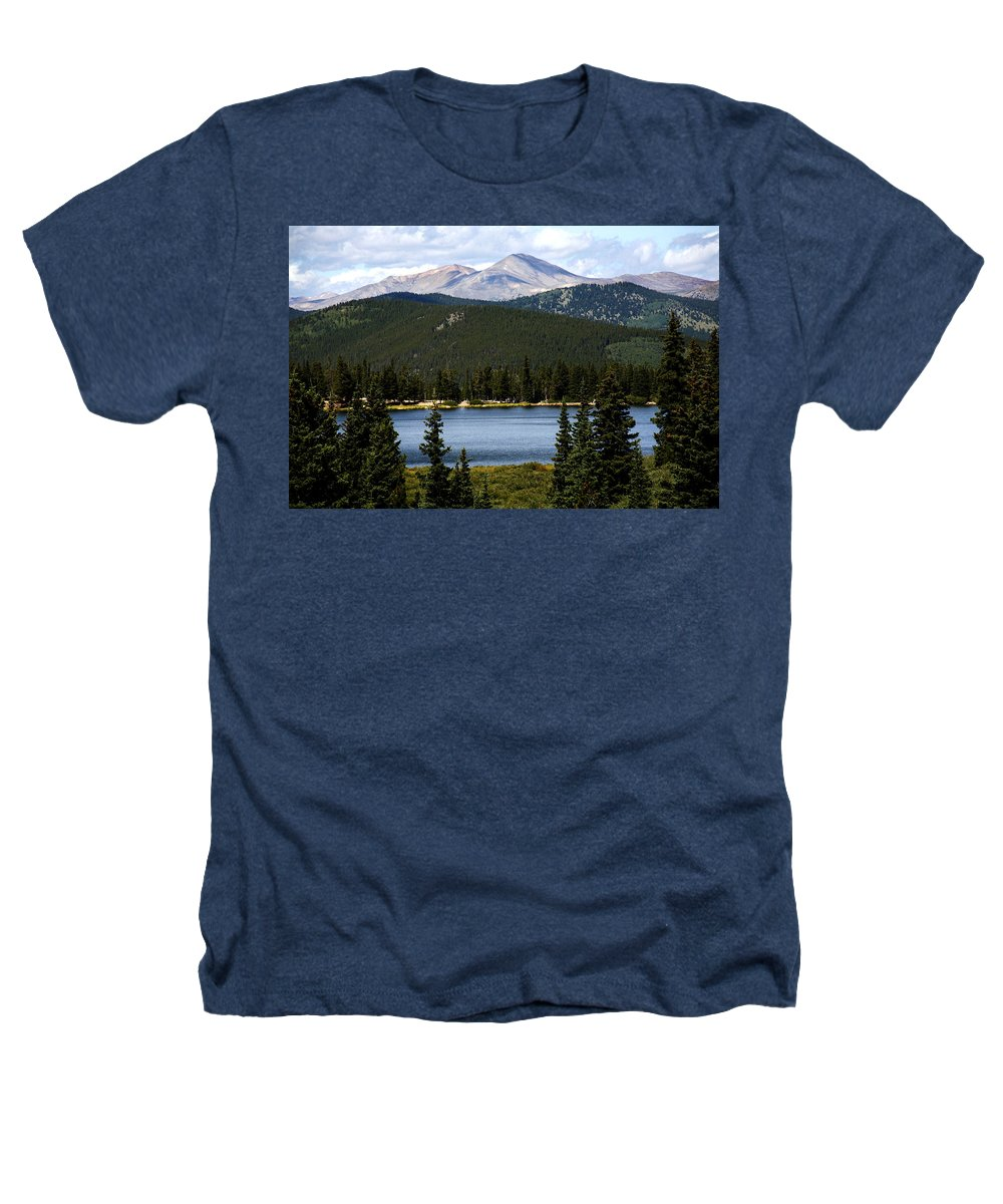 Colorado Heathers T-Shirt featuring the photograph Echo Lake Colorado by Marilyn Hunt