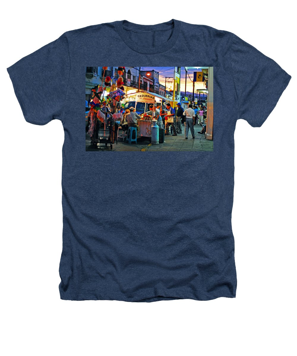 Skip Hunt Heathers T-Shirt featuring the photograph El Flamazo by Skip Hunt