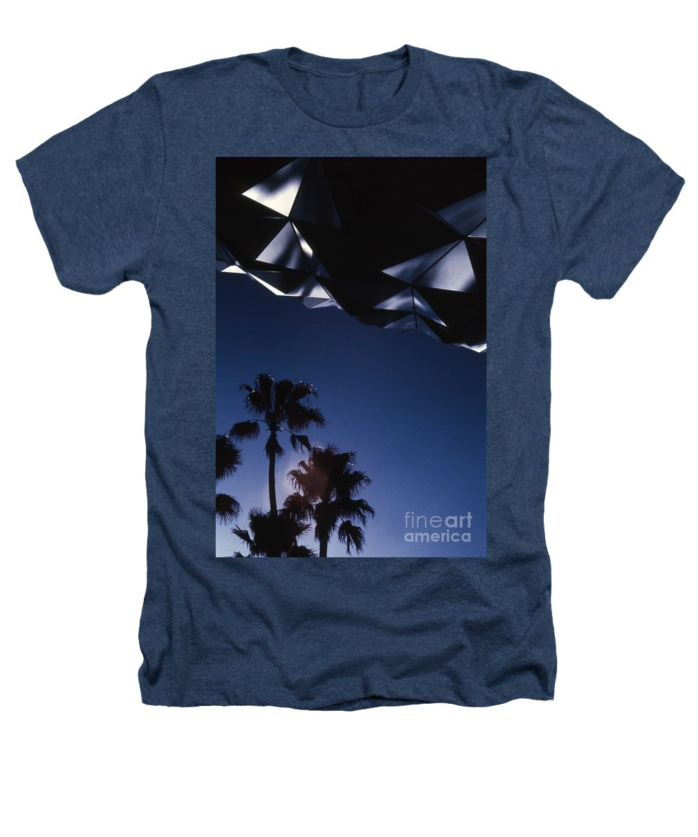 Epcot Heathers T-Shirt featuring the photograph Epcot Abstract by Richard Rizzo