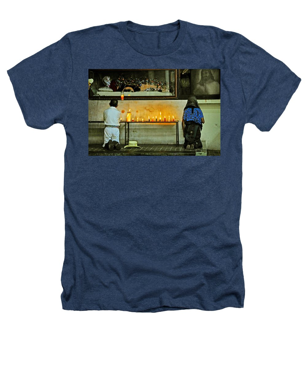 Skip Hunt Heathers T-Shirt featuring the photograph Faith by Skip Hunt