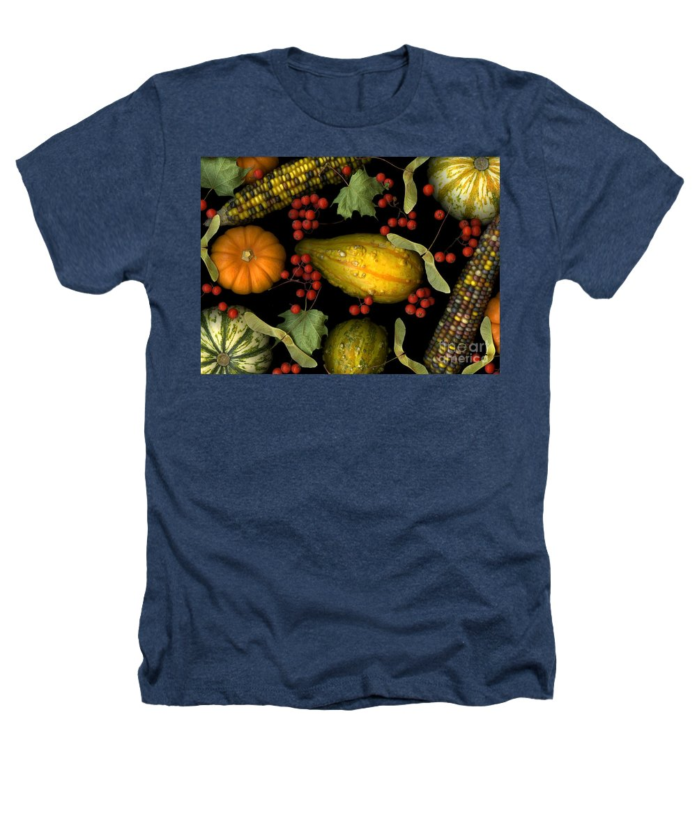 Slanec Heathers T-Shirt featuring the photograph Fall Harvest by Christian Slanec