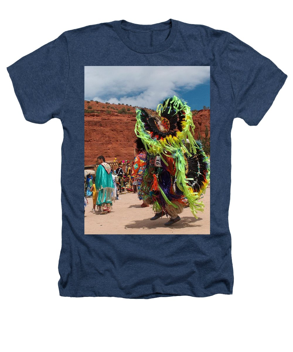 Fancy Dancer Heathers T-Shirt featuring the photograph Fancy Dancer by Tim McCarthy