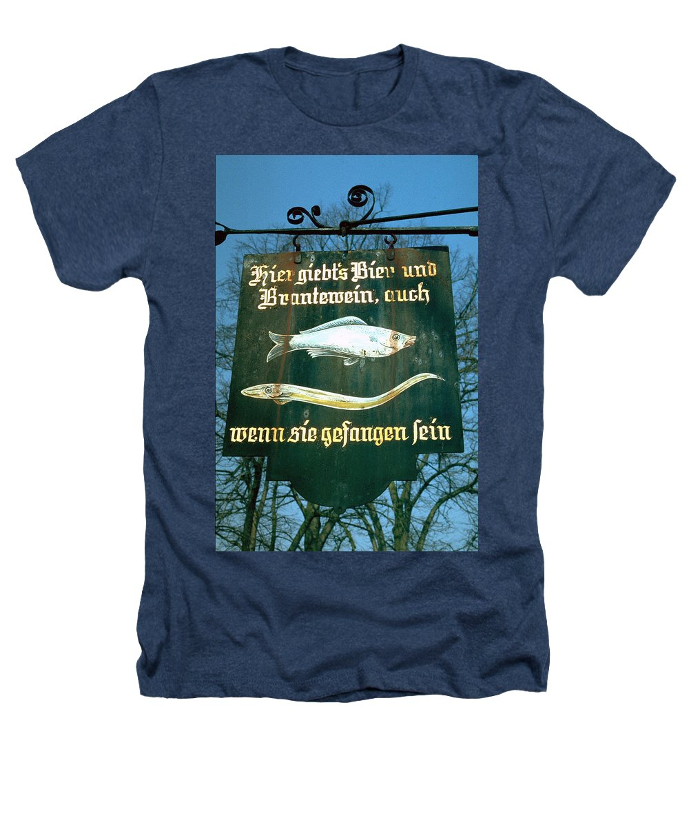 Store Sign Heathers T-Shirt featuring the photograph Fish by Flavia Westerwelle