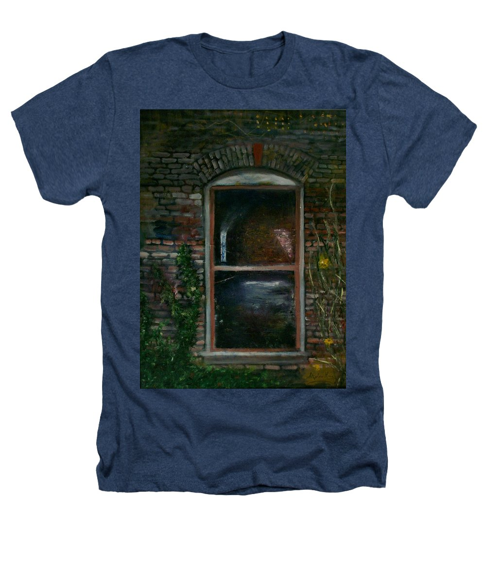 Landscape Heathers T-Shirt featuring the painting For Rent by Stephen King