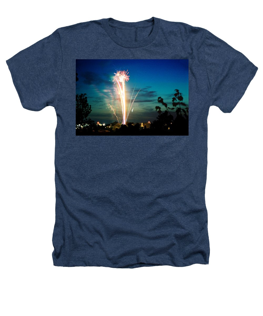 Landscape Heathers T-Shirt featuring the photograph Fourth Of July by Steve Karol