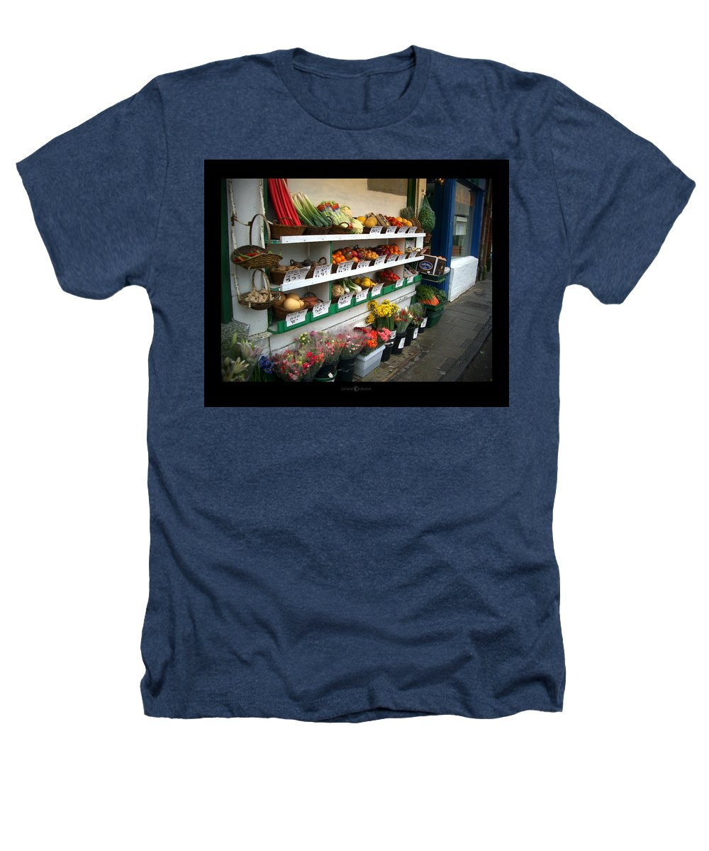 Shaftesbury Heathers T-Shirt featuring the photograph Fresh Produce by Tim Nyberg