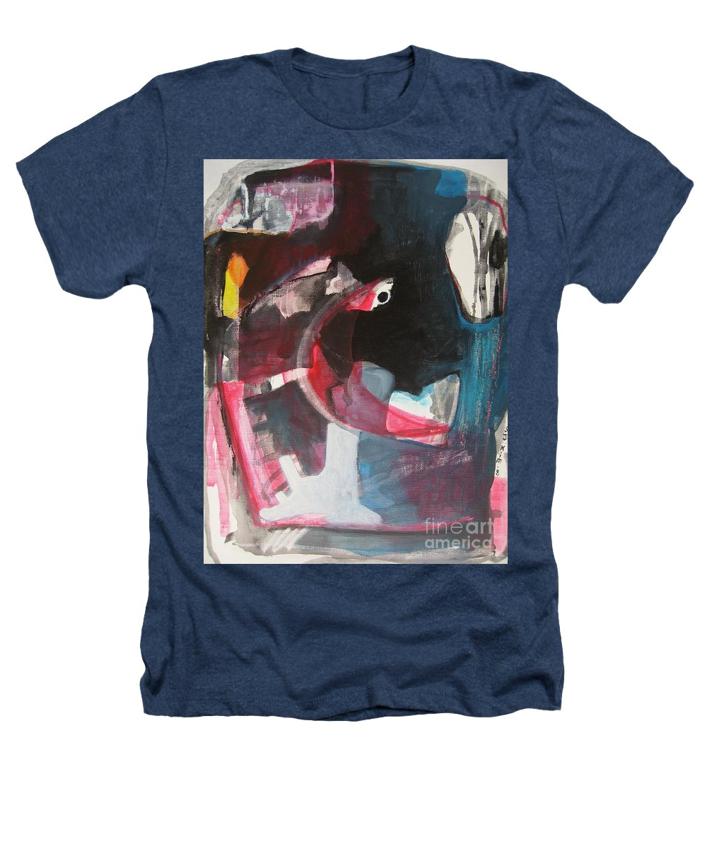 Abstract Paintings Paintings Abstract Art Paintings Heathers T-Shirt featuring the painting Fumbling With Memory by Seon-Jeong Kim