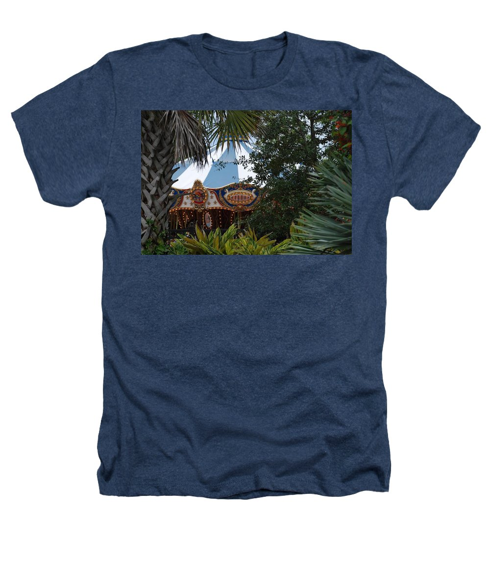 Architecture Heathers T-Shirt featuring the photograph Fun Thru The Trees by Rob Hans