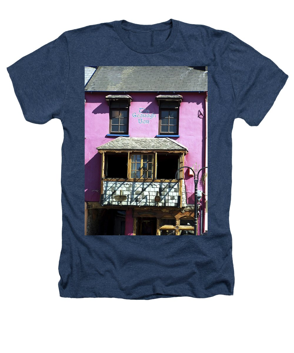 Irish Heathers T-Shirt featuring the photograph Gearagh Pub In Macroom Ireland by Teresa Mucha