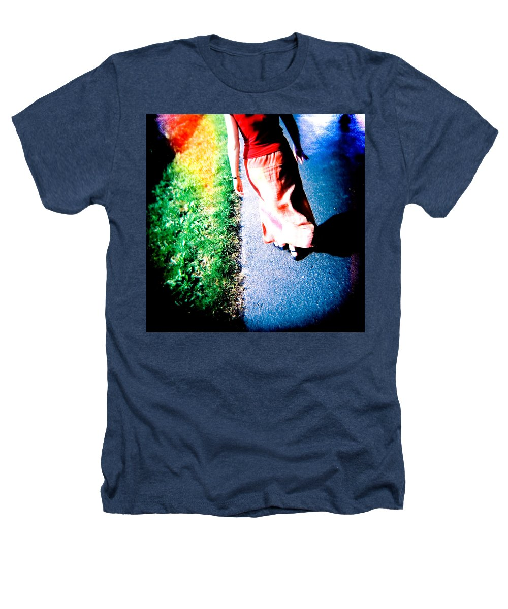 Color Photograph Holga Heathers T-Shirt featuring the photograph Gone by Olivier De Rycke