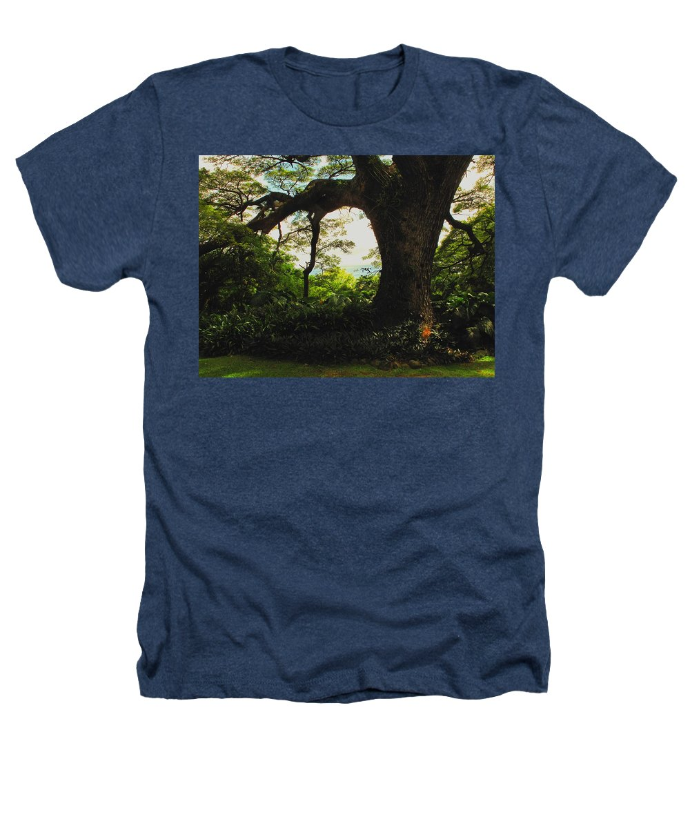Tropical Heathers T-Shirt featuring the photograph Green Giant by Ian MacDonald