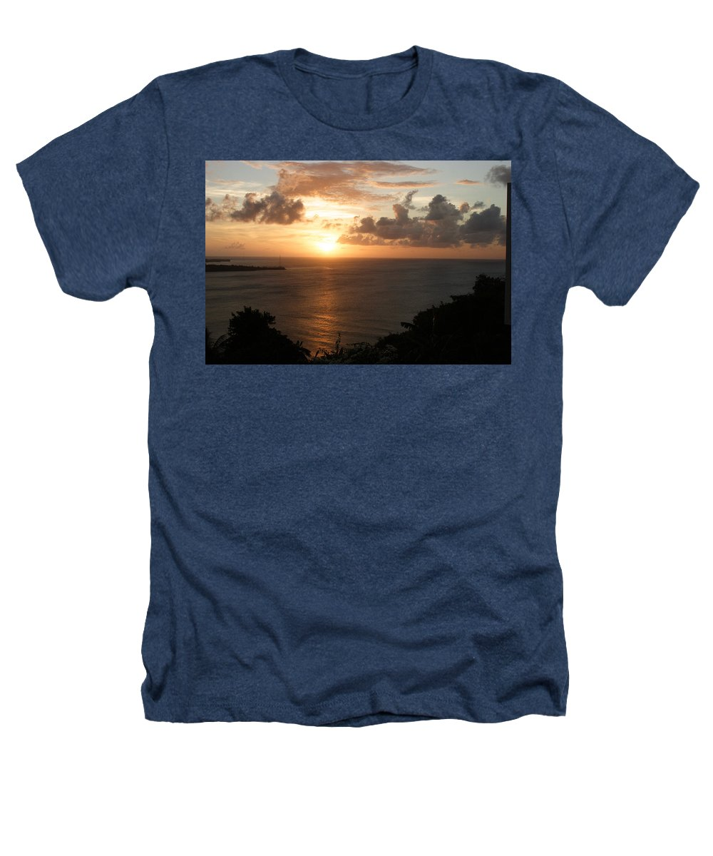 Grenada Heathers T-Shirt featuring the photograph Grenadian Sunset I by Jean Macaluso