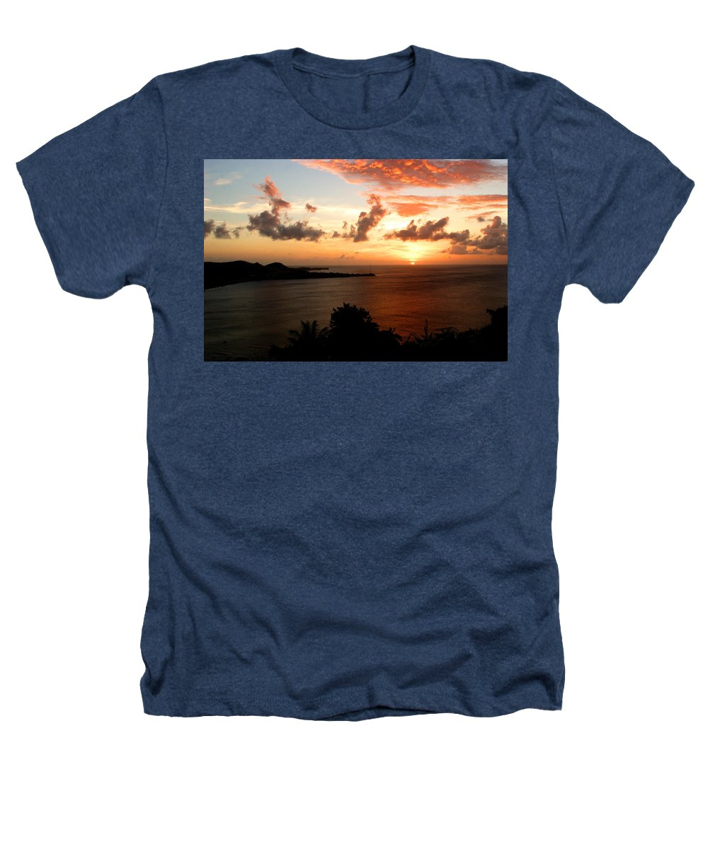 Sunset Heathers T-Shirt featuring the photograph Grenadian Sunset II by Jean Macaluso