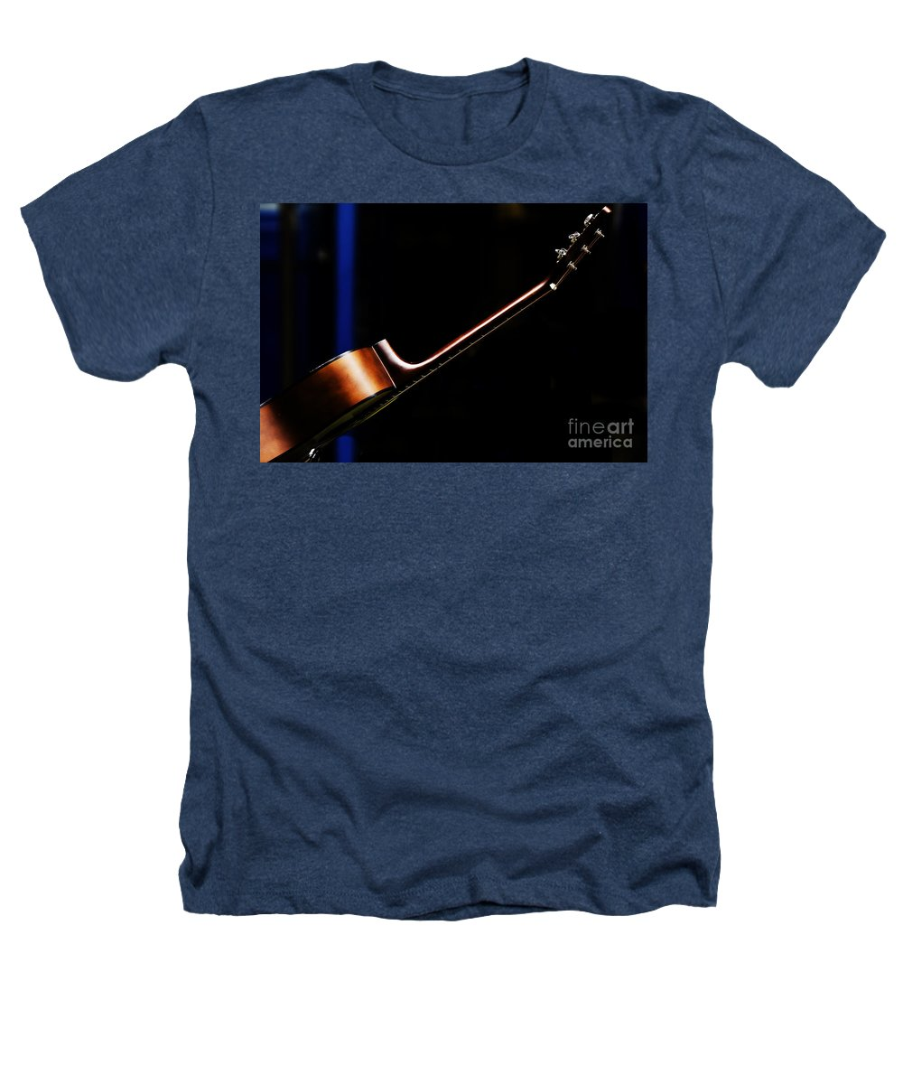 Guitar Heathers T-Shirt featuring the photograph Guitar by Avalon Fine Art Photography