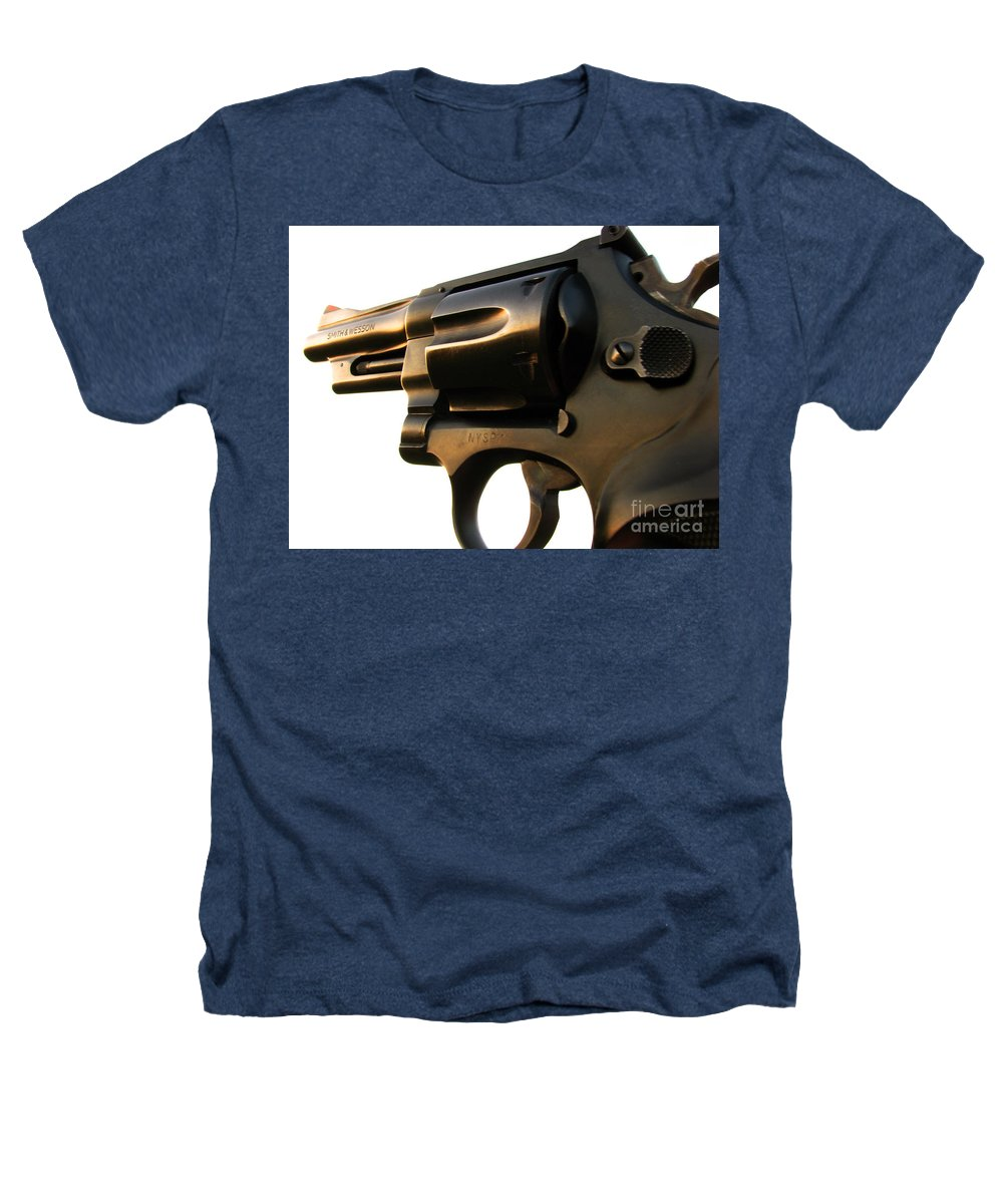 Gun Heathers T-Shirt featuring the photograph Gun Series by Amanda Barcon