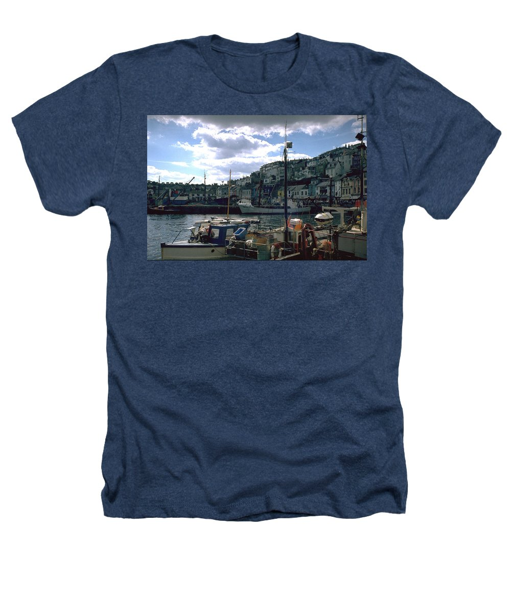 Great Britain Heathers T-Shirt featuring the photograph Harbor II by Flavia Westerwelle