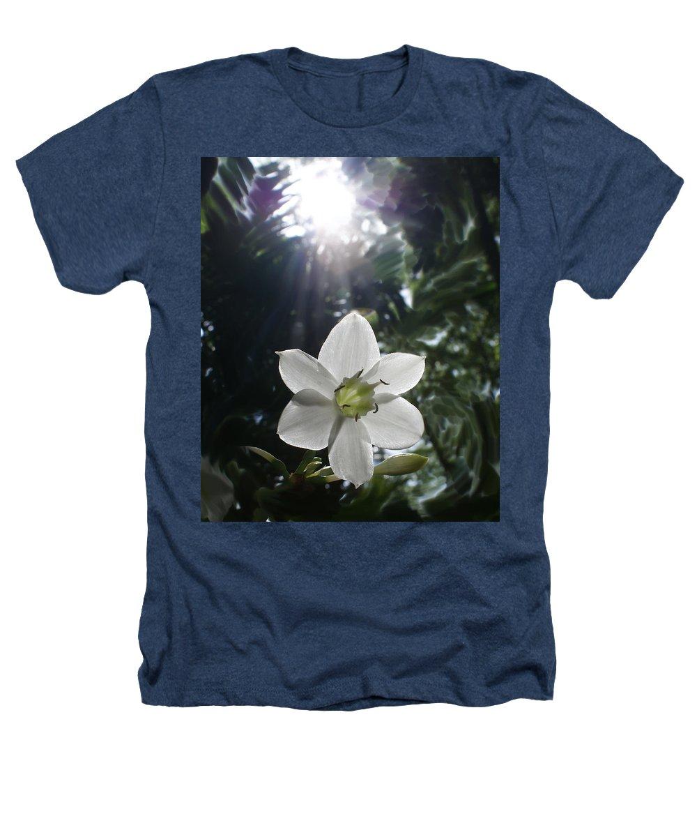 Hawaiian Heathers T-Shirt featuring the photograph Hawaiian Flower by Heather Coen