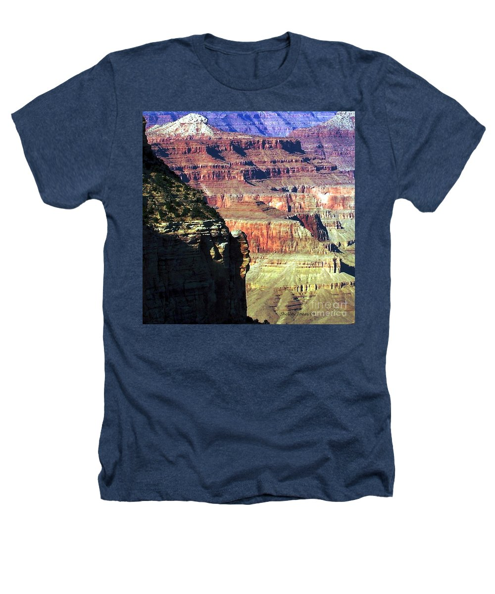 Photograph Heathers T-Shirt featuring the photograph Heritage by Shelley Jones