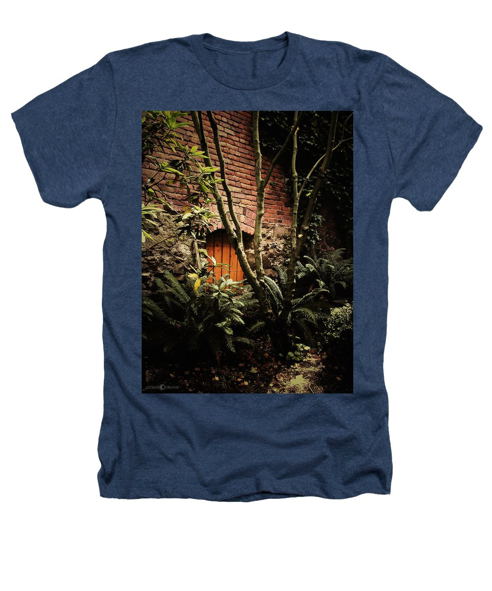 Brick Heathers T-Shirt featuring the photograph Hidden Passage by Tim Nyberg