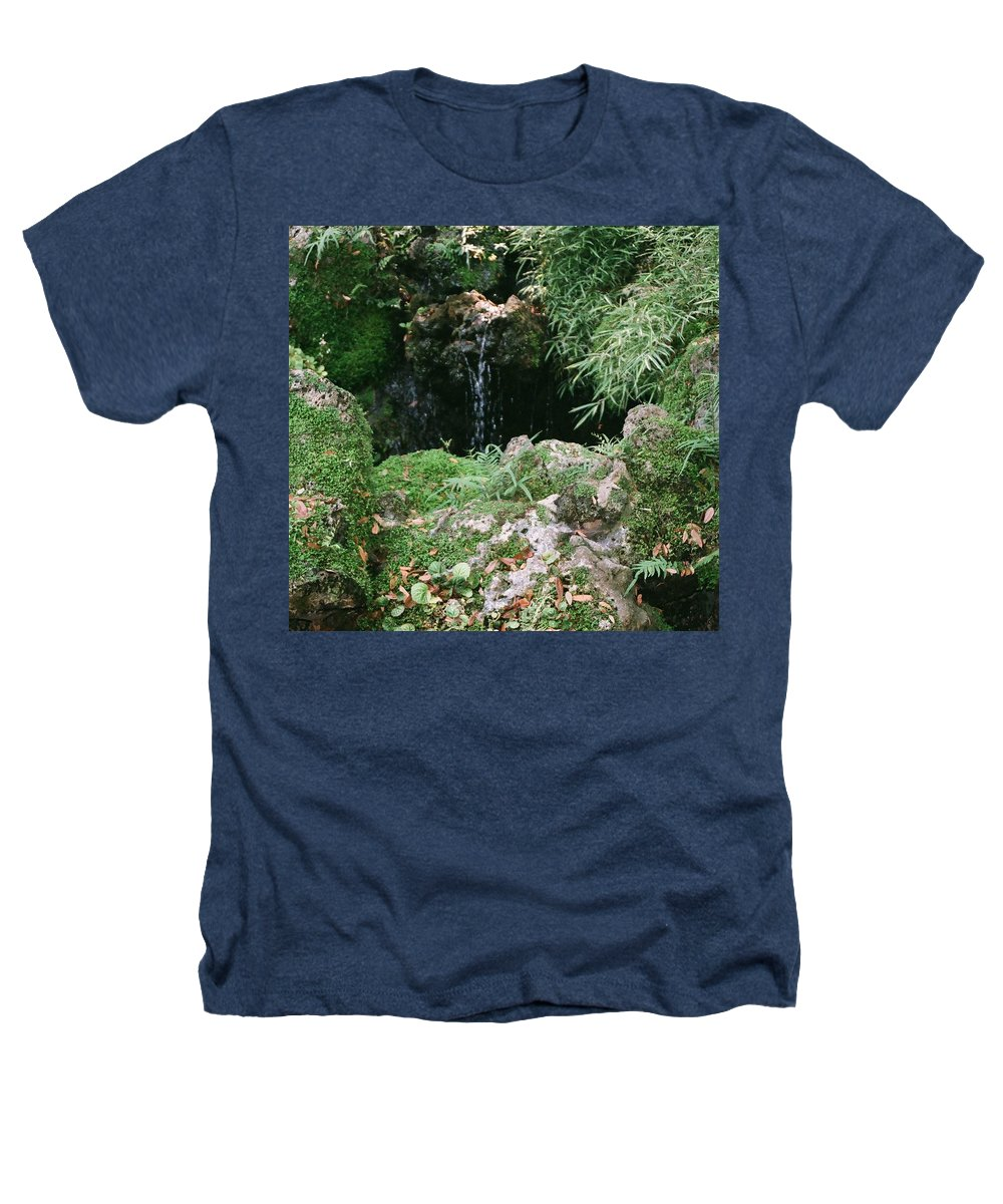 Nature Heathers T-Shirt featuring the photograph Hidden Waterfall by Dean Triolo