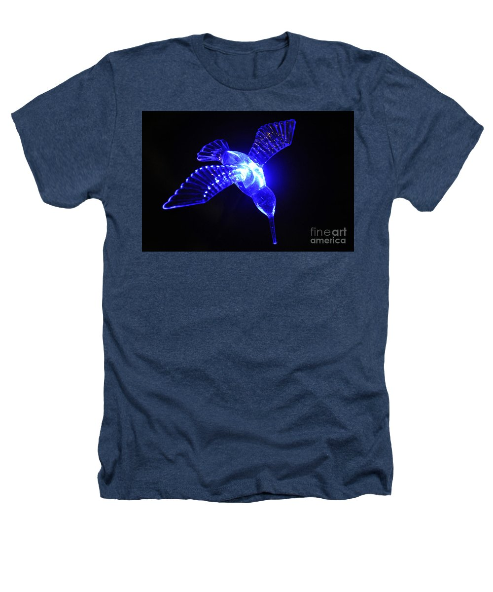 Clay Heathers T-Shirt featuring the photograph Humming Bird Light by Clayton Bruster