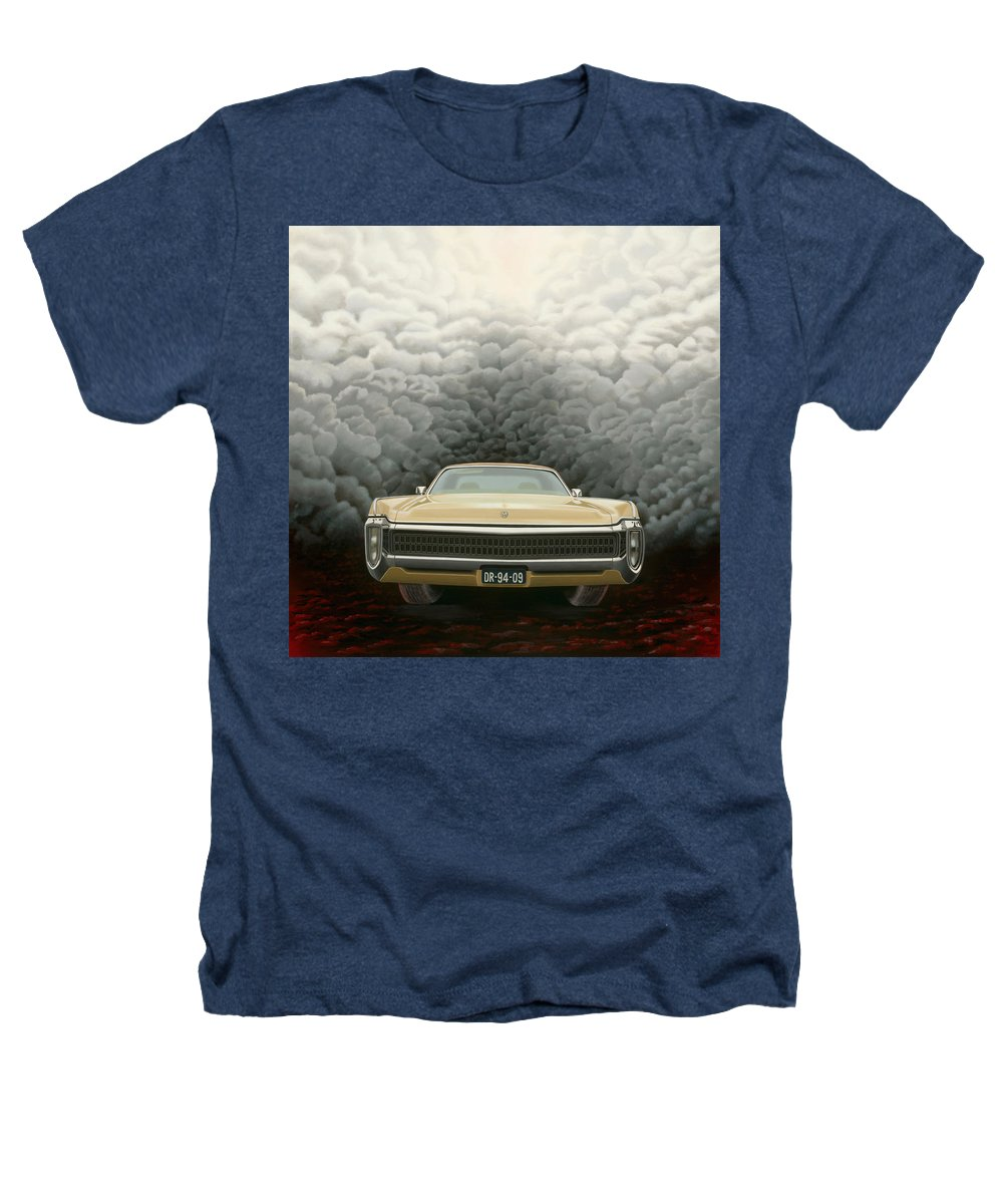 Surreal Heathers T-Shirt featuring the painting Imperial by Patricia Van Lubeck