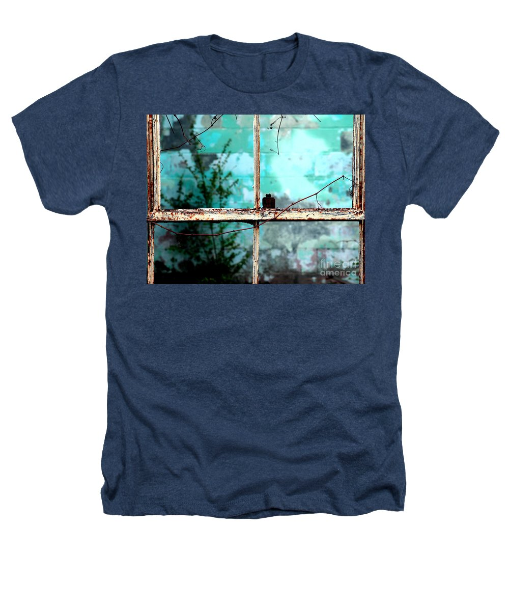 Windows Heathers T-Shirt featuring the photograph In Or Out by Amanda Barcon