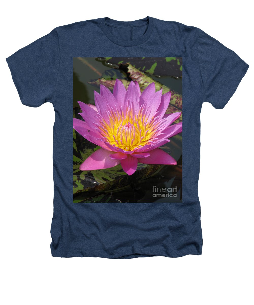 Lotus Heathers T-Shirt featuring the photograph In Position by Amanda Barcon