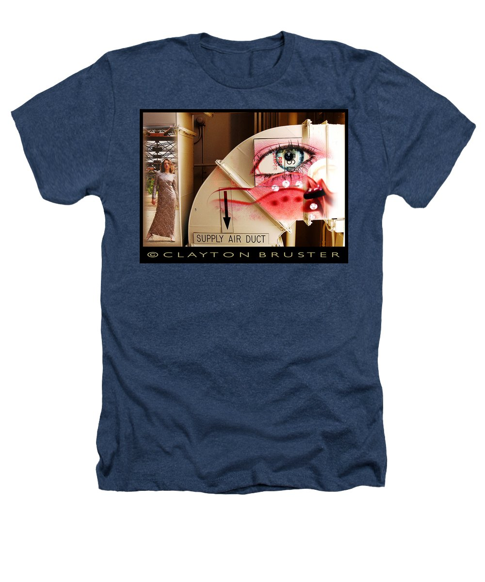 Heathers T-Shirt featuring the photograph Industrial Ceiling Dreams by Clayton Bruster