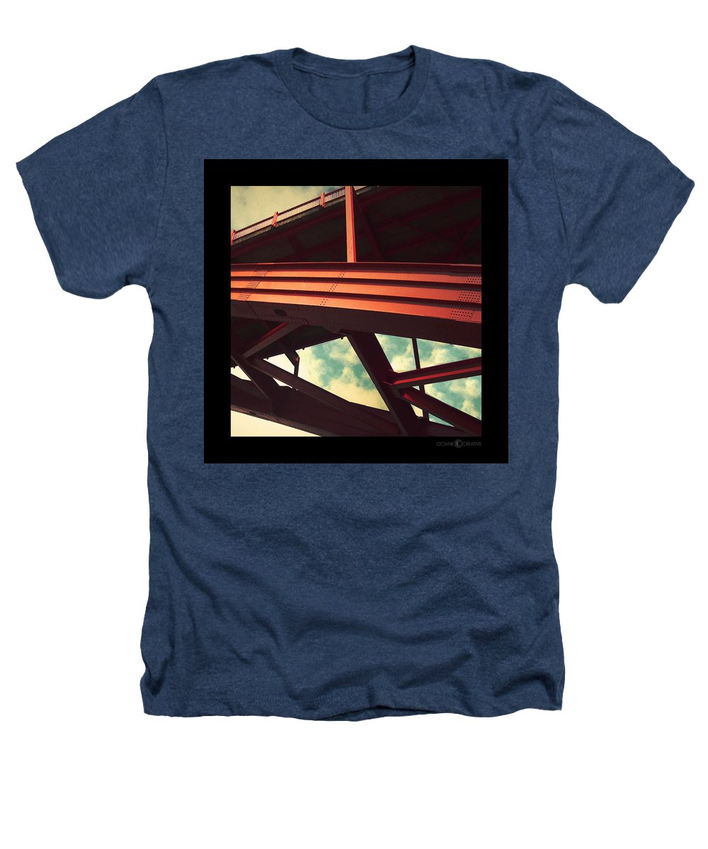 Bridge Heathers T-Shirt featuring the photograph Infrastructure by Tim Nyberg