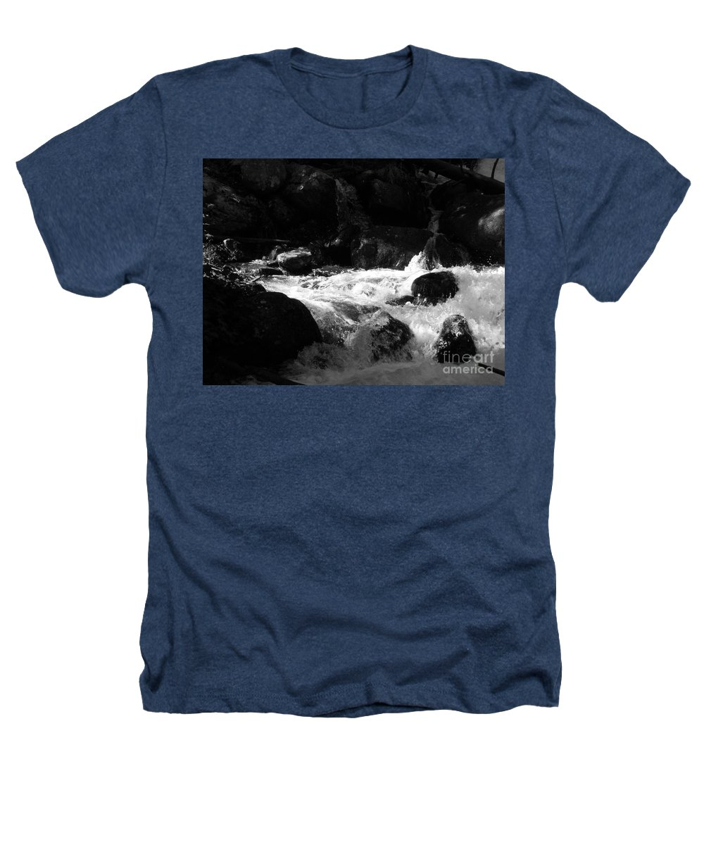 Rivers Heathers T-Shirt featuring the photograph Into The Light by Amanda Barcon
