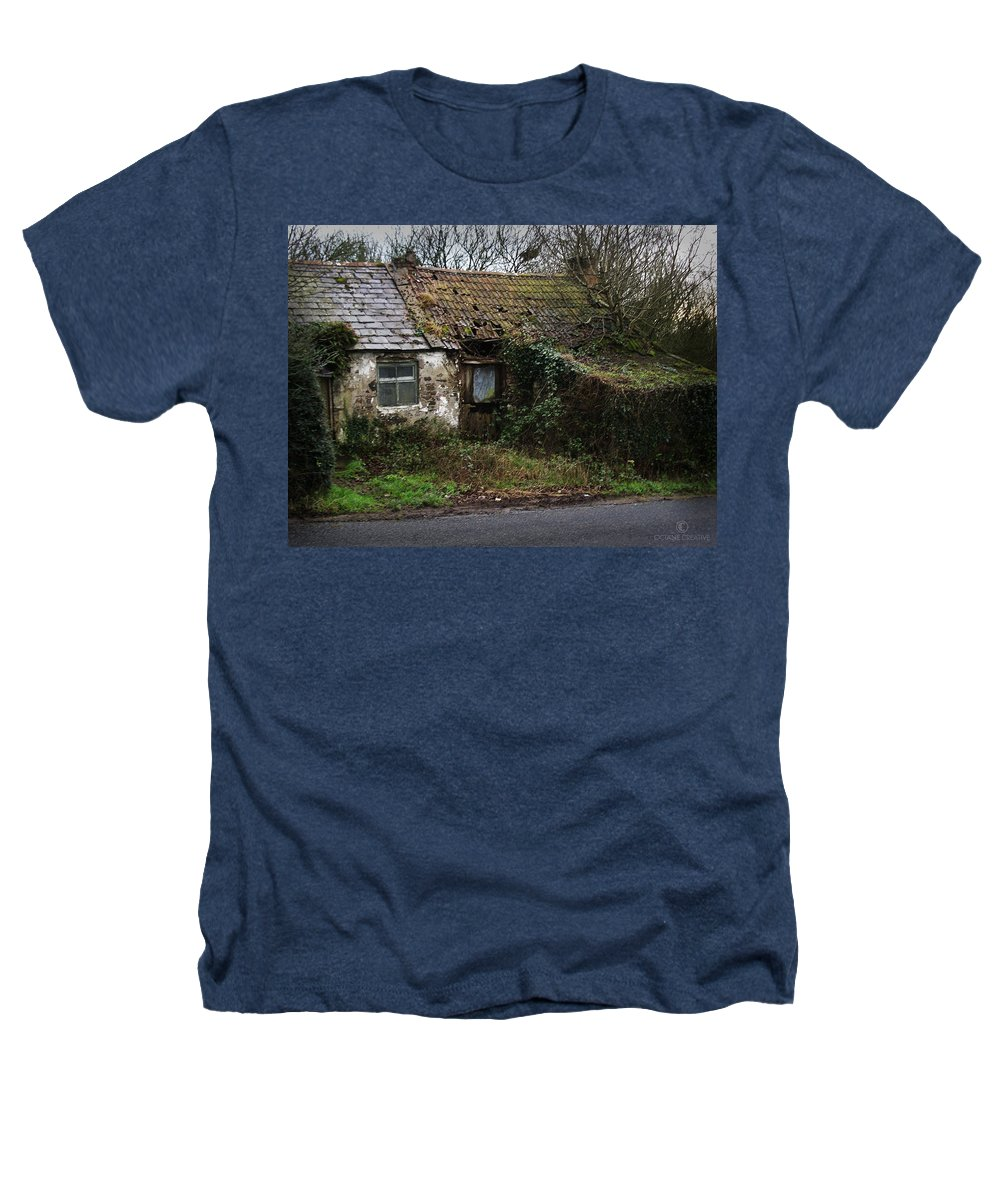 Hovel Heathers T-Shirt featuring the photograph Irish Hovel by Tim Nyberg