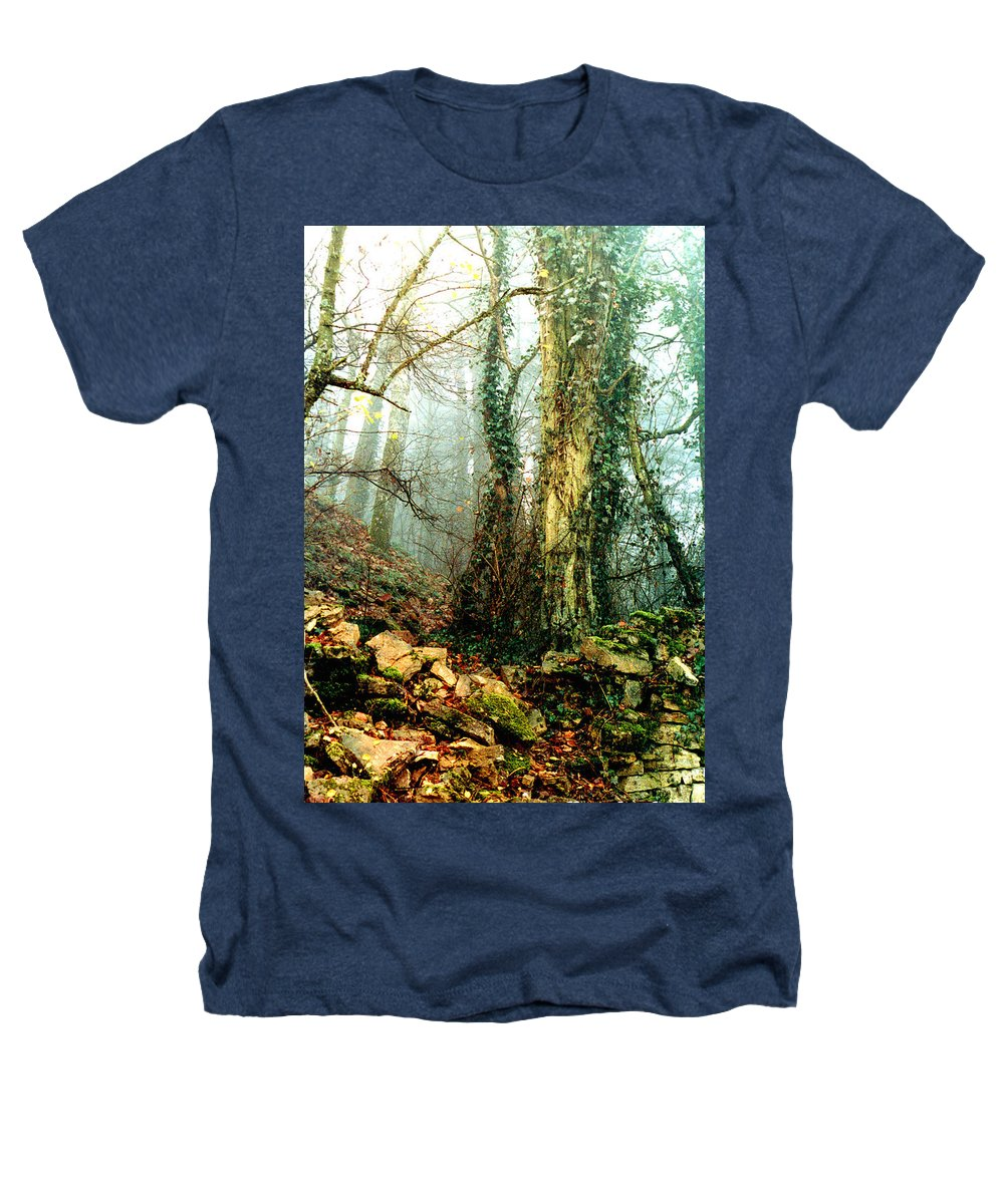 Ivy Heathers T-Shirt featuring the photograph Ivy In The Woods by Nancy Mueller