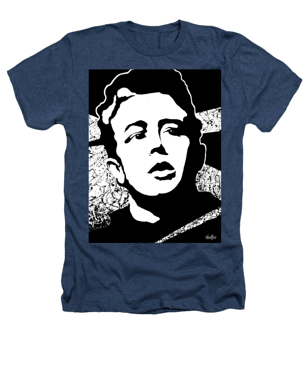 James Dean Heathers T-Shirt featuring the painting James Dean by Curtiss Shaffer
