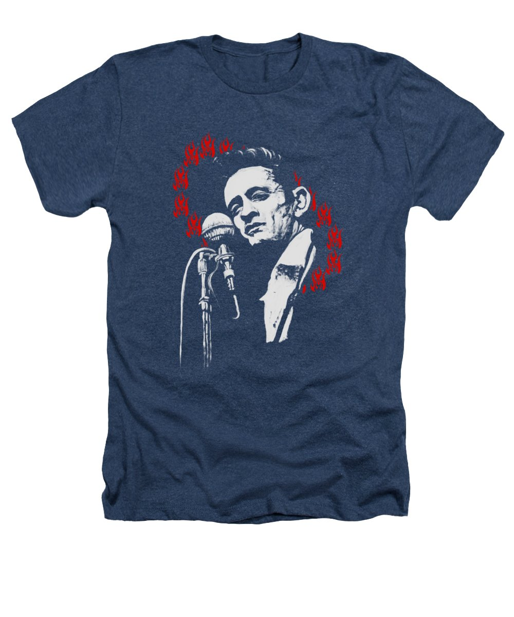 Johnny Cash Heathers T-Shirts