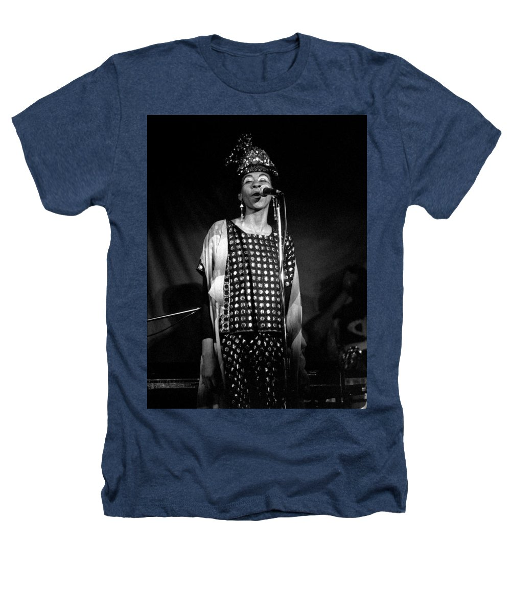 June Tyson Heathers T-Shirt featuring the photograph June Tyson by Lee Santa