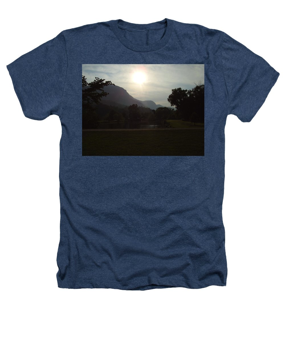 Lake Lure Heathers T-Shirt featuring the photograph Lake Lure by Flavia Westerwelle