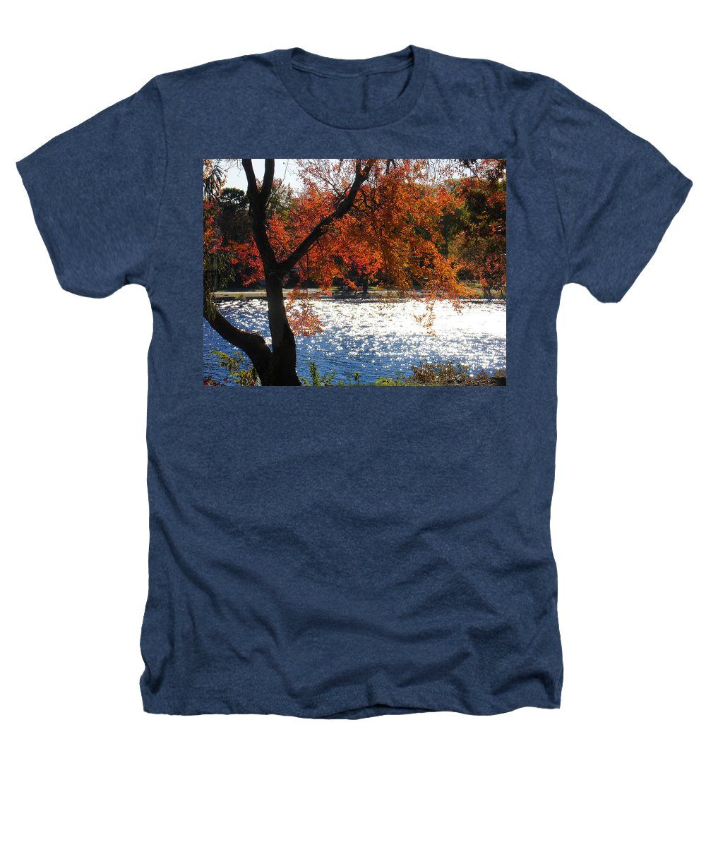 Landscape Heathers T-Shirt featuring the photograph Lakewood by Steve Karol