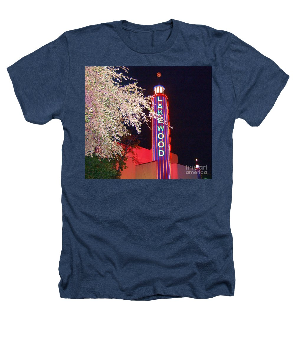 Theater Heathers T-Shirt featuring the photograph Lakewood Theater by Debbi Granruth
