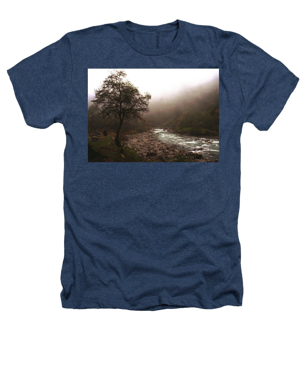 Tree Heathers T-Shirt featuring the photograph Langtang Morning by Patrick Klauss