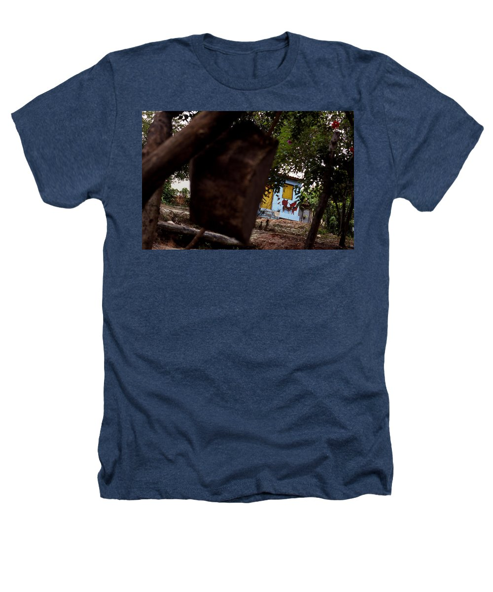 Dog Heathers T-Shirt featuring the photograph Lencois - Dog by Patrick Klauss