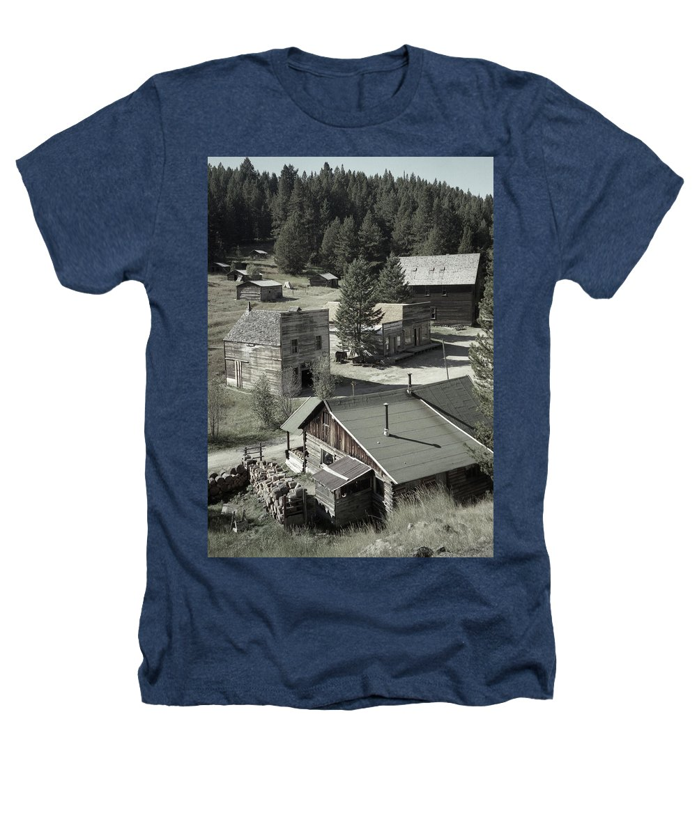 Ghost Towns Heathers T-Shirt featuring the photograph Life In A Ghost Town by Richard Rizzo