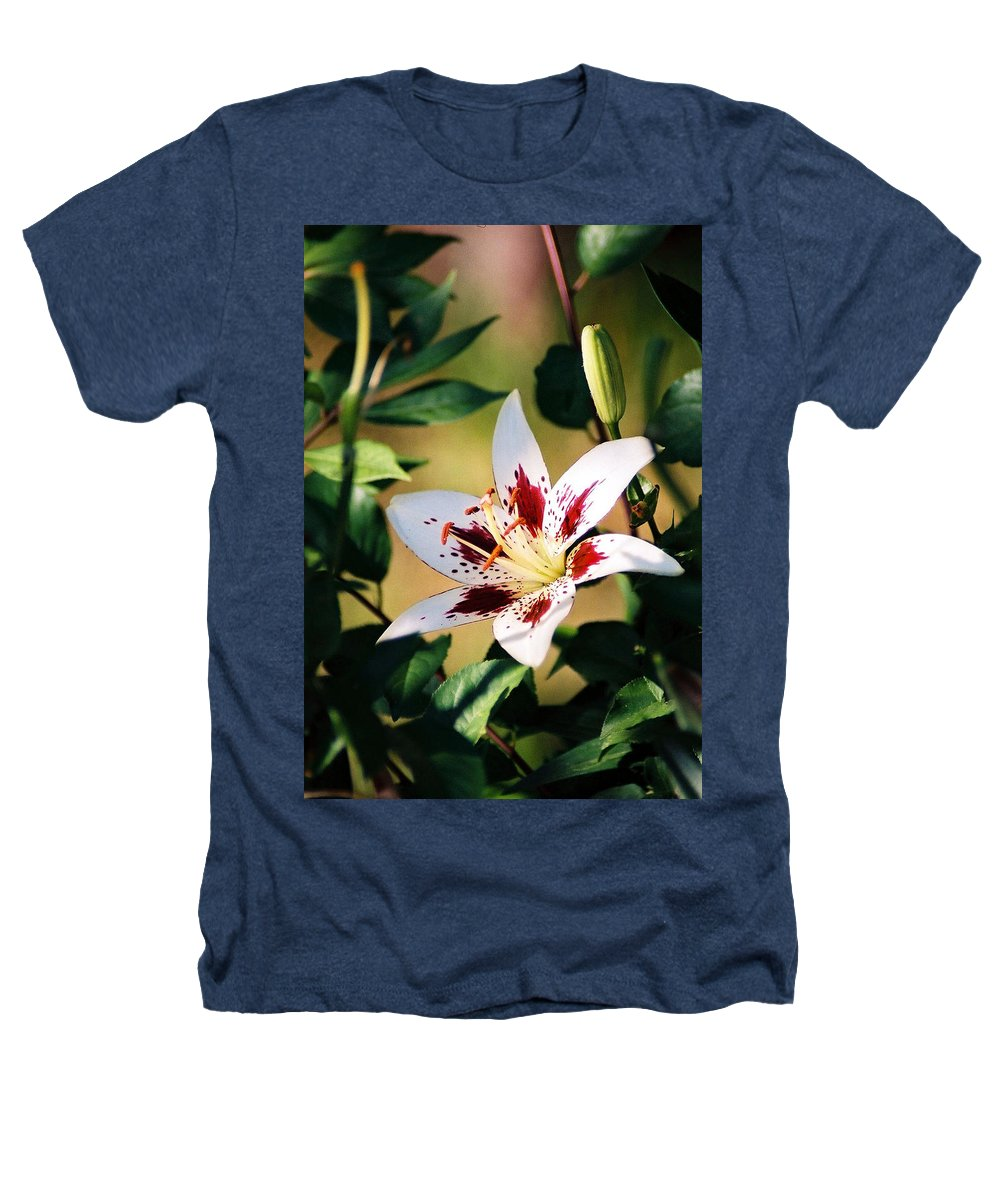 Flower Heathers T-Shirt featuring the photograph Lily by Steve Karol