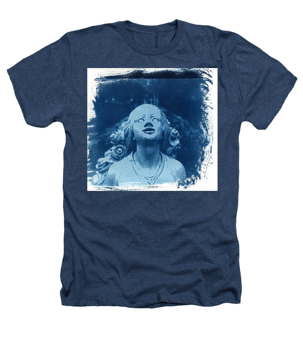 Head Heathers T-Shirt featuring the photograph Looking Up by Jane Linders