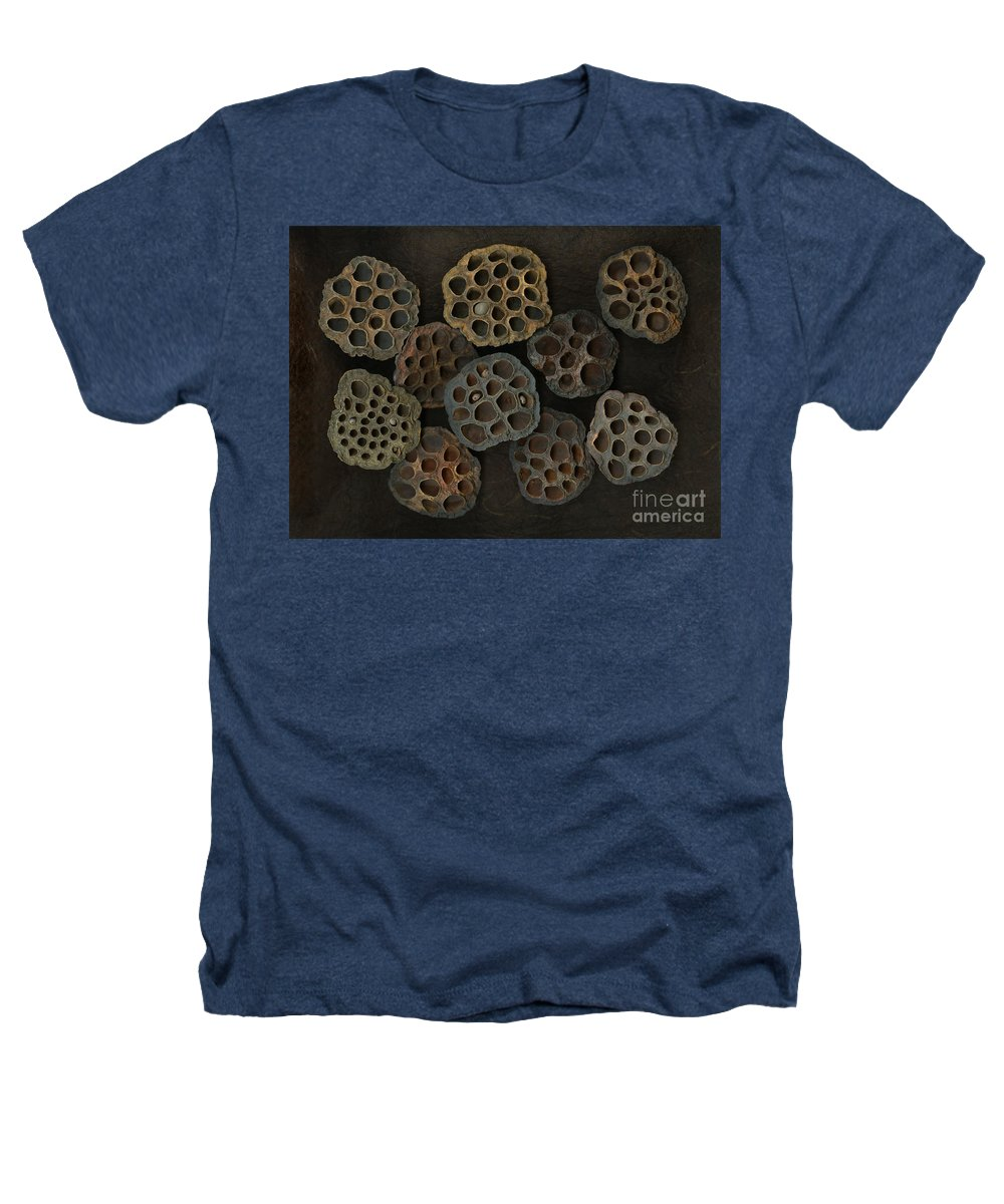 Lotus Heathers T-Shirt featuring the photograph Lotus Pods by Christian Slanec