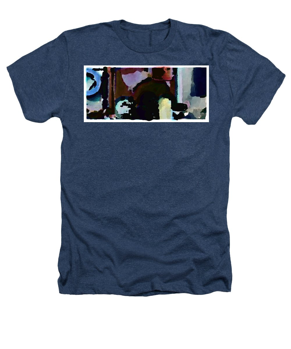 Abstract Expressionism Heathers T-Shirt featuring the painting Lunch Counter by Steve Karol